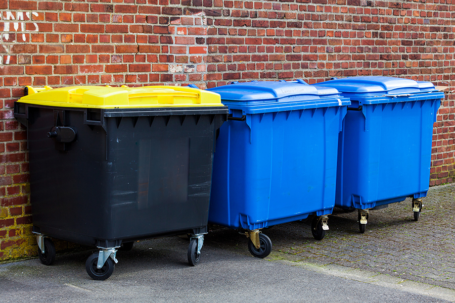 Commercial Wheelie Bin Cleaning Services in Leeds, Yorkshire